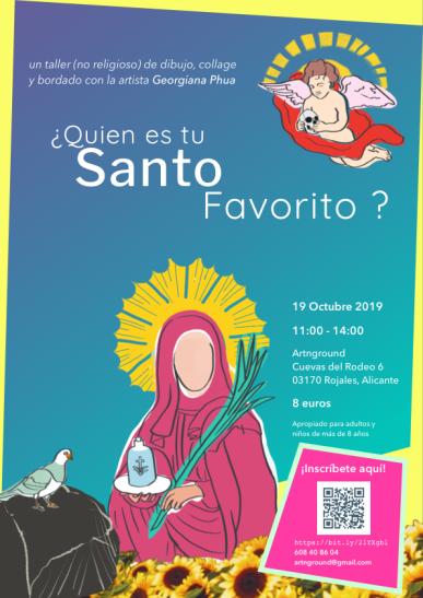 Poster Artnground Santo